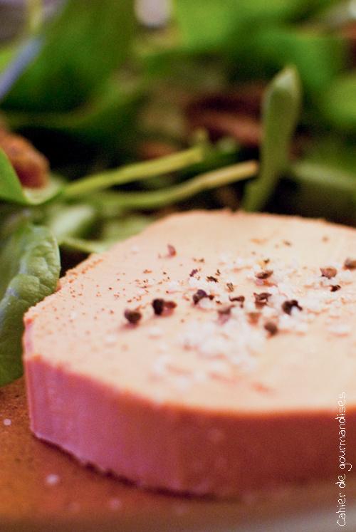 Foie gras Pousses & Figues | Cahier de gourmandises