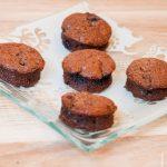 Bouchées chocolat myrtilles