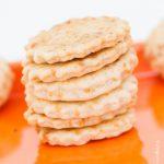 Crackers au fromage  Cahier de gourmandises