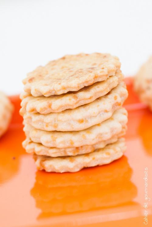Crackers au fromage| Cahier de gourmandises