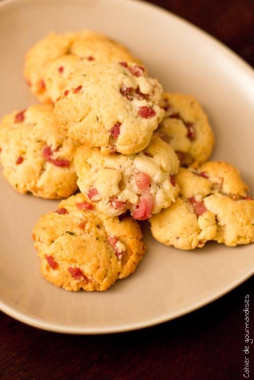 Biscuits Lardons Parmesan