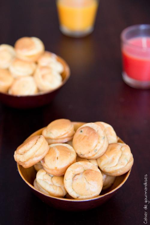 Bouchees Saumon Chevre - Cahier de gourmandises