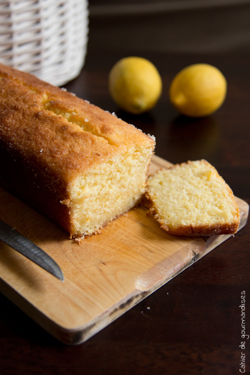 Cake Citron Coco - Cahier de gourmandises