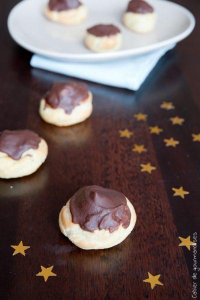 Choux à la crème patissière chocolat