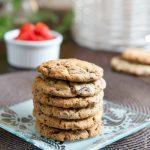 Cookies Chocolat et amande amère