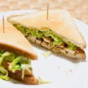 Croque pouletv - Cahier de gourmandises