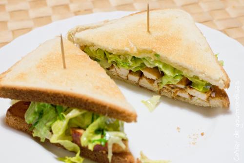 Croque poulet - Cahier de gourmandises