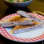 Croque Thon Ricotta - Cahier de gourmandises