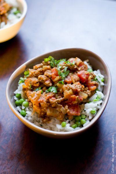 Curry Express Boeuf - Cahier de gourmandises