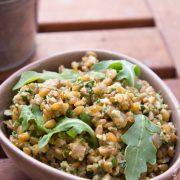 Epeautre Pesto - Cahier de gourmandises