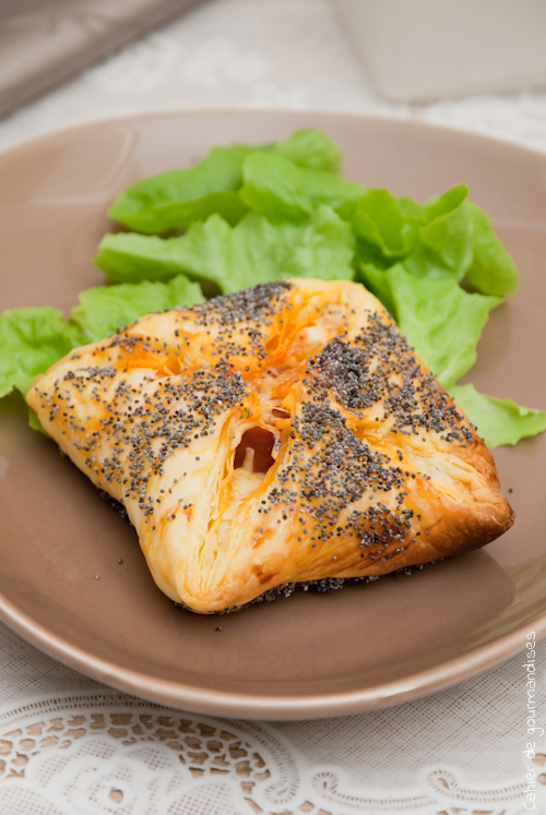 Feuilletes Ricotta Chorizo - Cahier de gourmandises