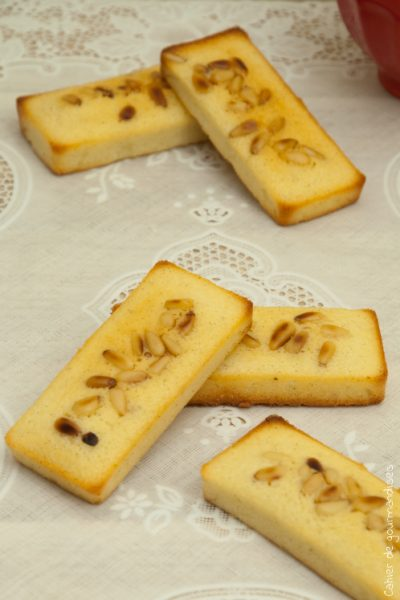 Financiers vanille et citron