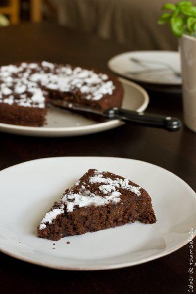 Moelleux au Chocolat & Courgette (sans beurre)