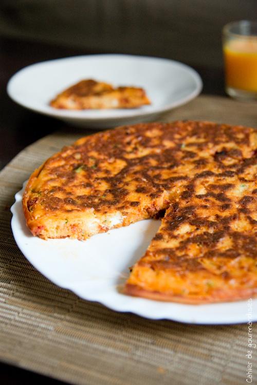Gateau Chorizo Kiri - Cahier de gourmandises