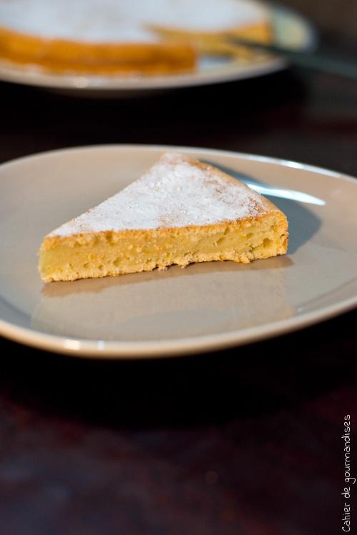 Gateau Ricotta Citron - Cahier de gourmandises