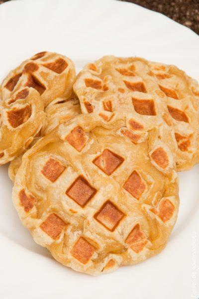 Gaufres Express au jambon - Cahier de gourmandises