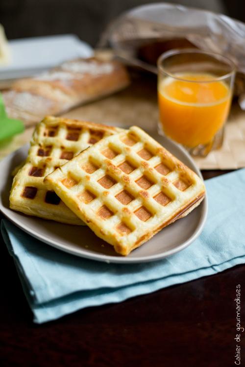 Gaufres Express Saumon - Cahier de gourmandises