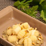 Gnocchis Creme Courgettes - Cahier de gourmandises