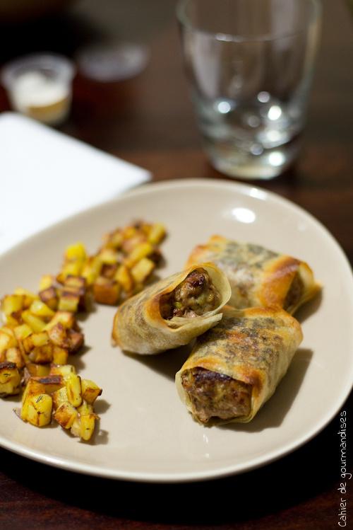Keftas Croustillantes - Cahier de gourmandises