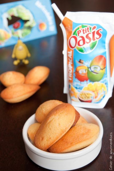 Madeleines tropicales
