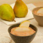Mousse chocolat poire