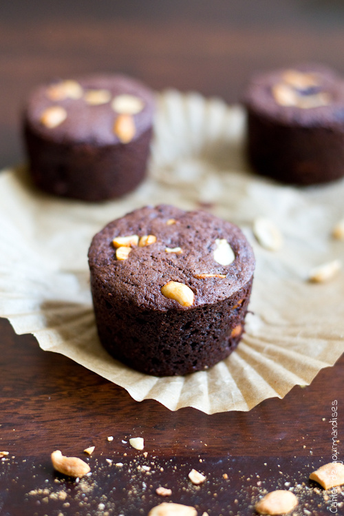 Muffins Chocolat Cacahuetes - Cahier de gourmandises