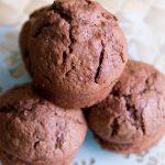 Muffins chocolat noisettes