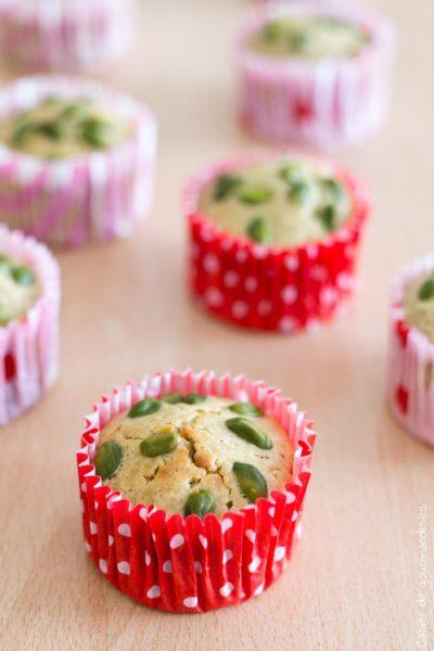 Muffins citron & pistaches
