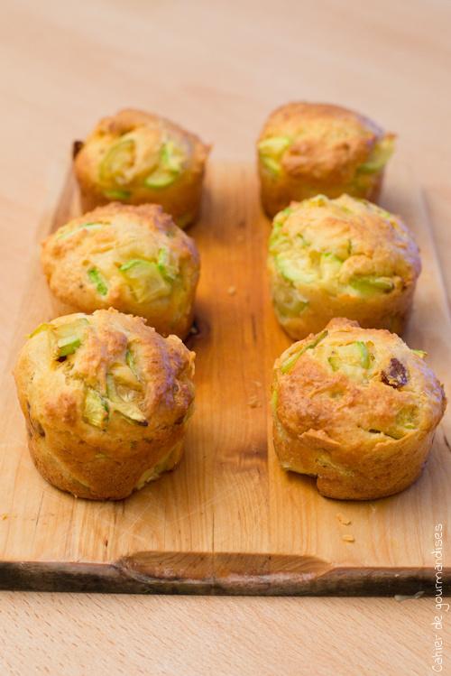 Muffins Courgettes Chorizo
