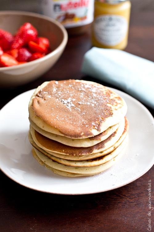 Pancakes Ricotta - Cahier de gourmandises