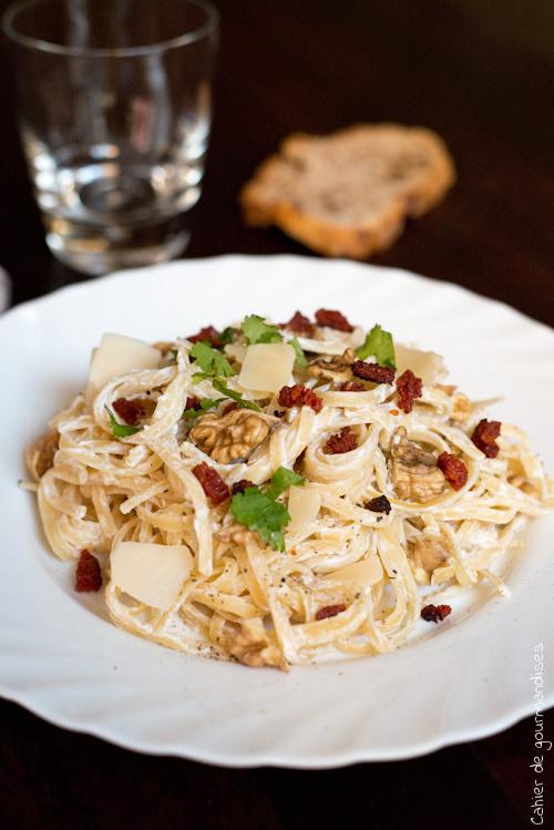 Pates Chorizo Noix - Cahier de gourmandises