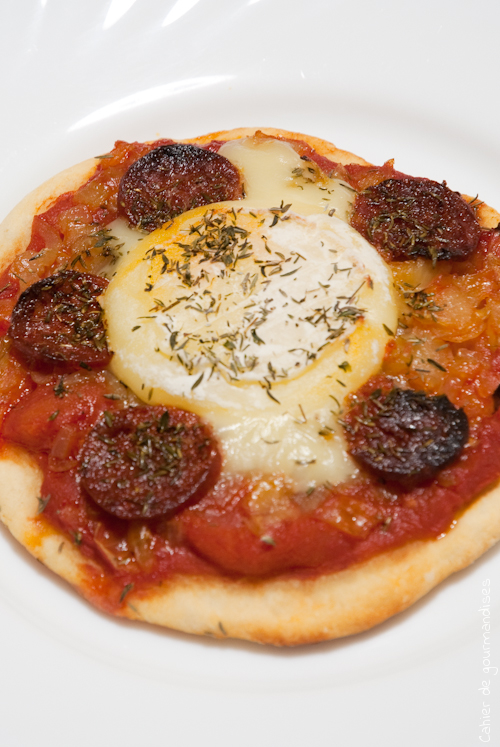 Pizza Chevre Chorizo2