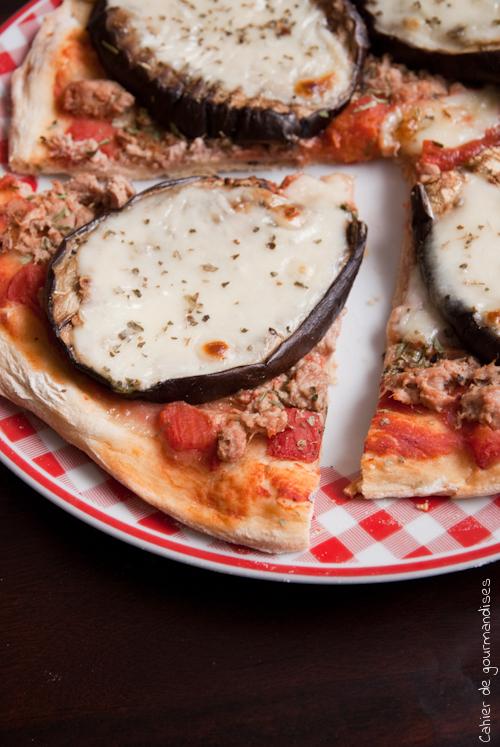 Pizza Thon Aubergine 2