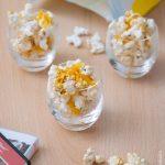 Pop-corn salé au paprika et cheddar