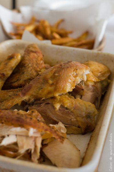 Le poulet/frites du dimanche chez Eric