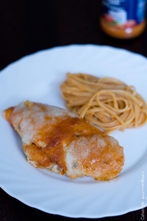 Poulet Pesto Mozza