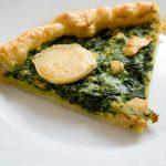 Quiche Epinards Saumon - Cahier de gourmandises