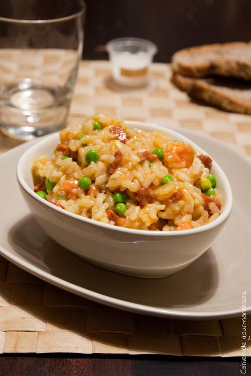 Risotto Paella - Cahier de gourmandises