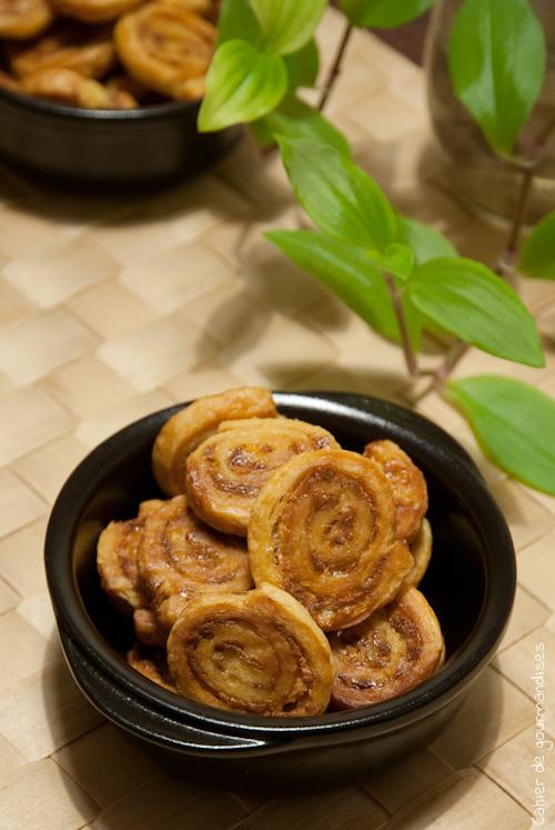 Roules Chevre Miel2 - Cahier de gourmandises