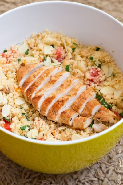 Salade de semoule au poulet