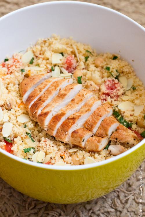 Salade Semoule Poulet