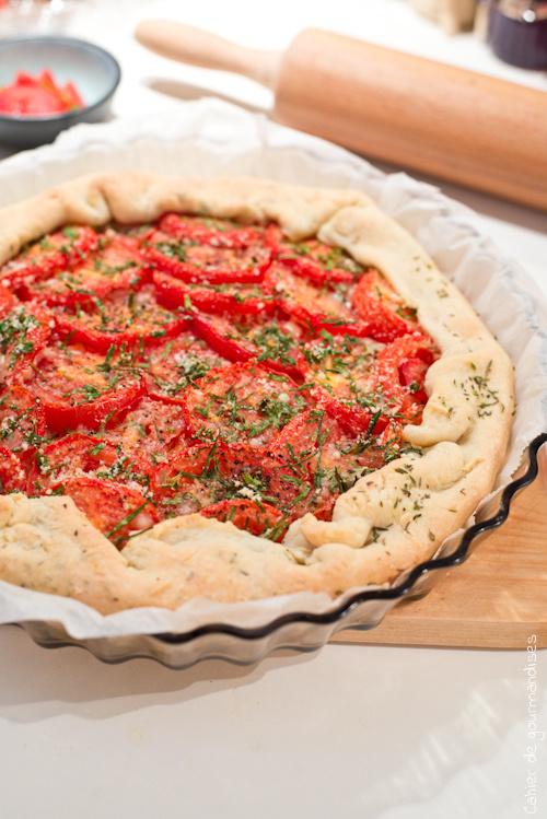 Tarte Tomates Thym