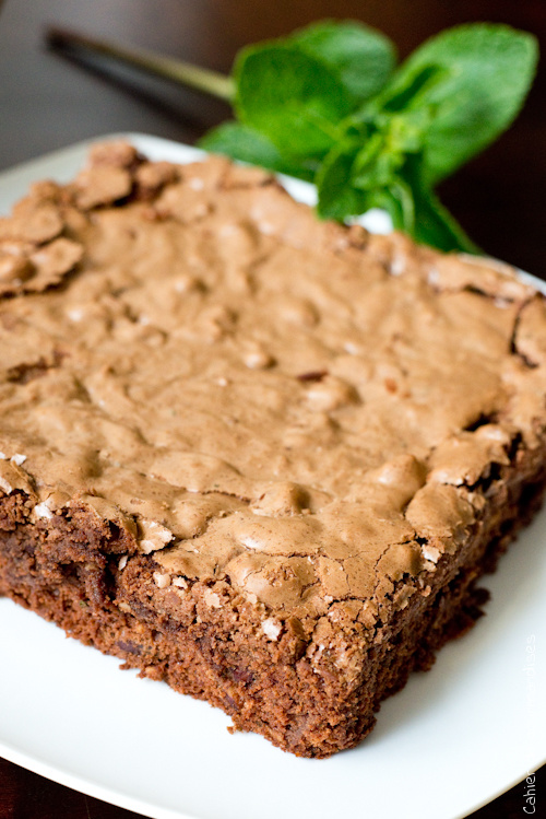 Brownies Noisettes Menthe 2