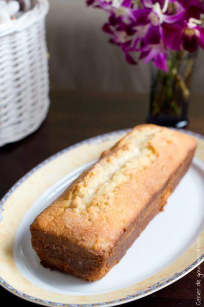 Cake aux 2 citrons & amandes
