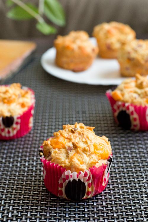 Muffins Jambon Mimolette