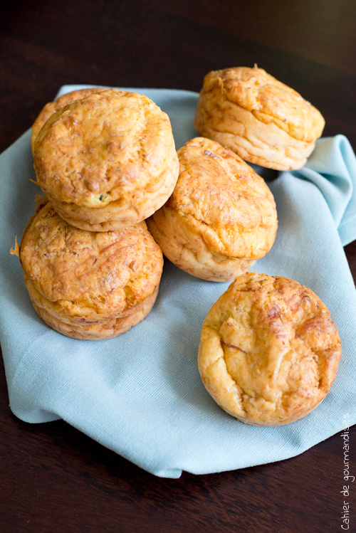 Muffins Jambon Mozza