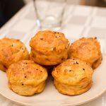 Muffins léger saumon parmesan