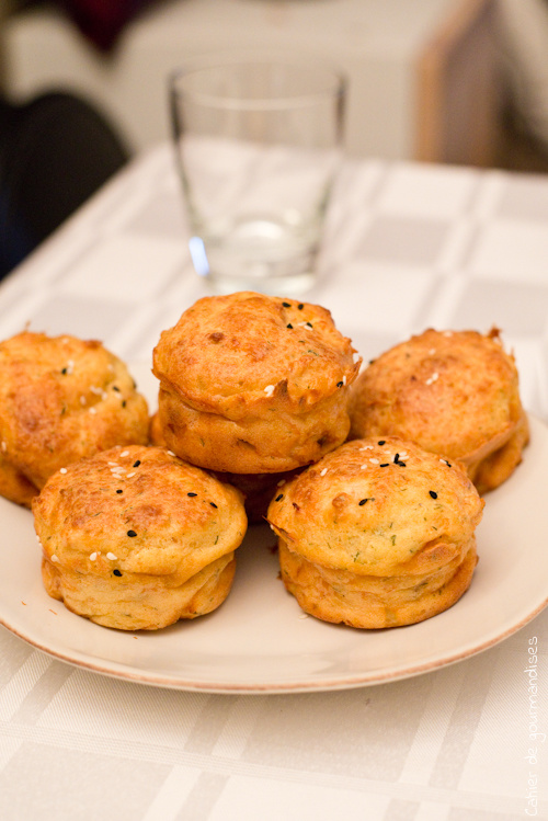 Muffins Saumon Parmesan