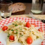 Tagliatelles poulet & tomates cerises