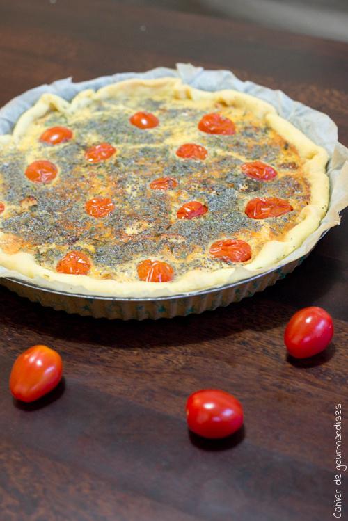 Quiche Tomates Brebis